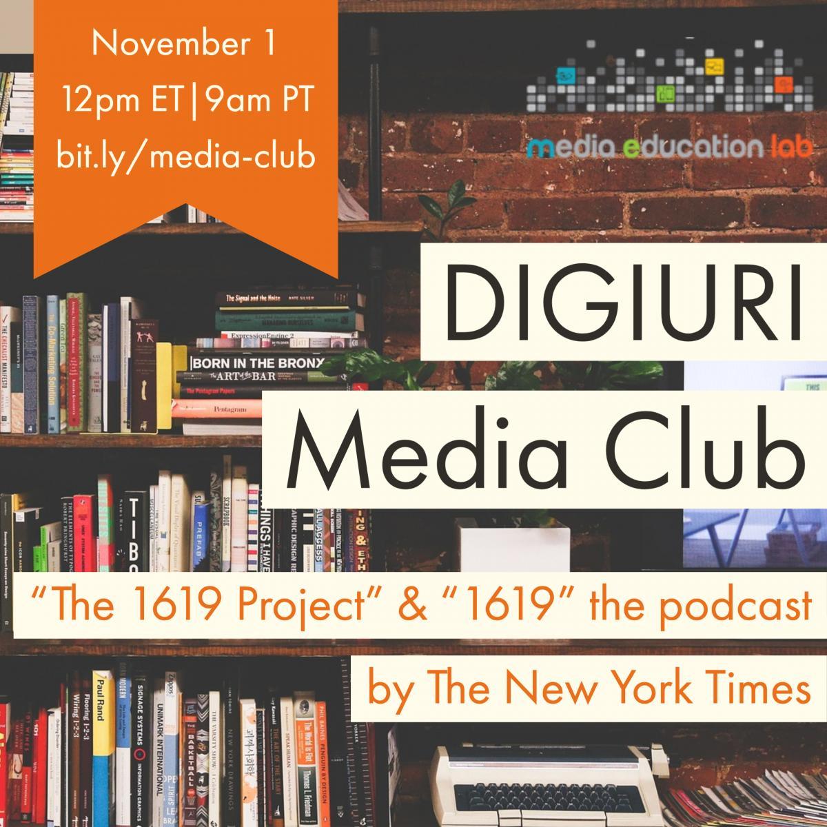 Media Club promo November
