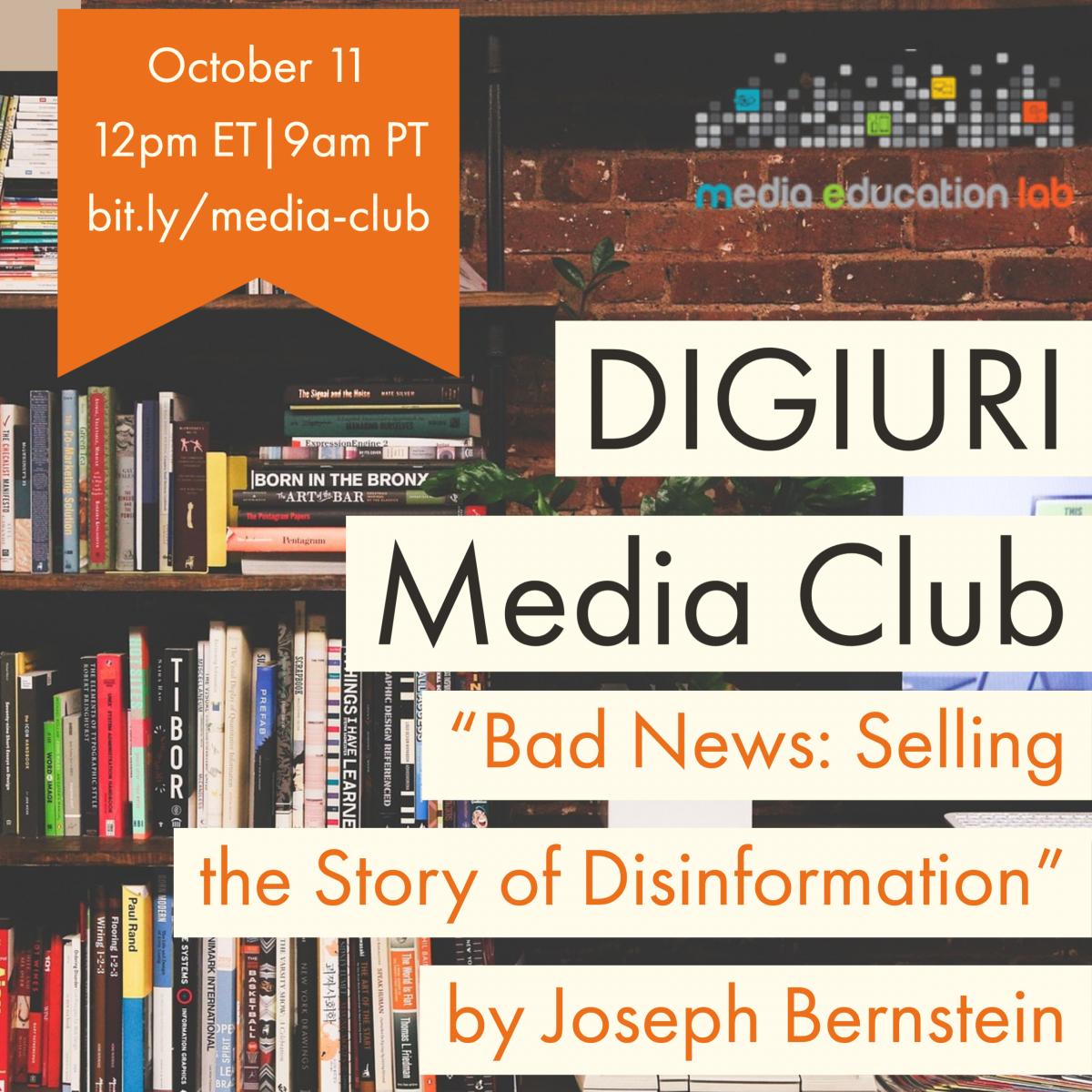 October 4 Media Club Promo